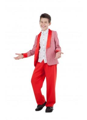 Костюм стиляги красный детский