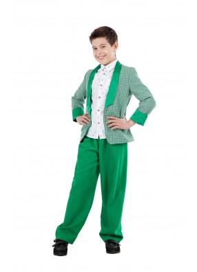 Костюм стиляги зеленый детский