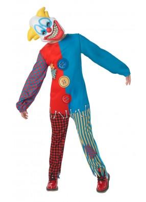 Костюм страшного клоуна детский фото