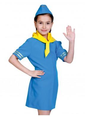 Костюм стюардесса детский