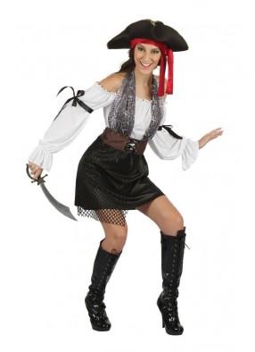Костюм сумасшедшей пиратки