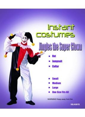 Костюм супер-клоуна для взрослого