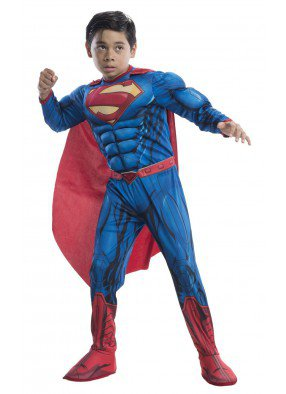 Костюм Супермена Deluxe для детей фото