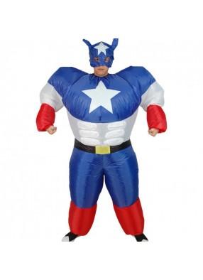 Костюм Супермена надувной 1 фото