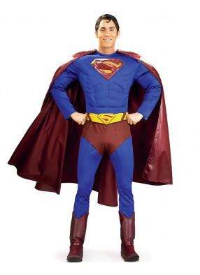 Костюм Супермена с мускулистым торсом