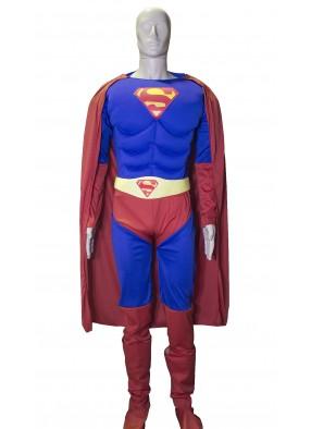Костюм супермена с мышцами для мужчин фото