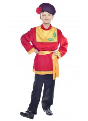 Костюм танцевальный в народном стиле для мальчика фото
