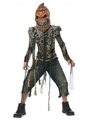 Костюм тыквы-зомби детский