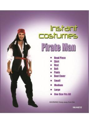 Костюм удалого пирата
