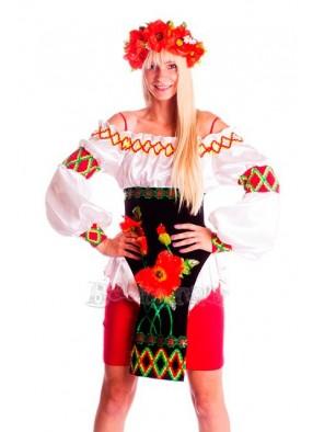 Костюм украинский Маки