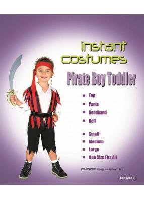 Костюм устрашающего пирата