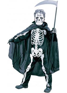 Костюм Ужасный скелет детский