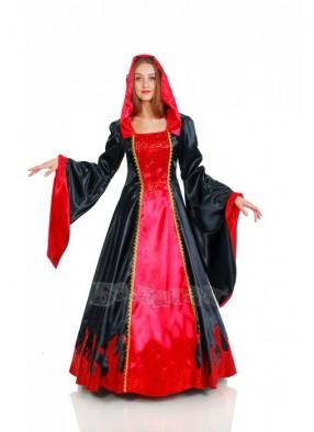 Костюм вампирши в готическом стиле
