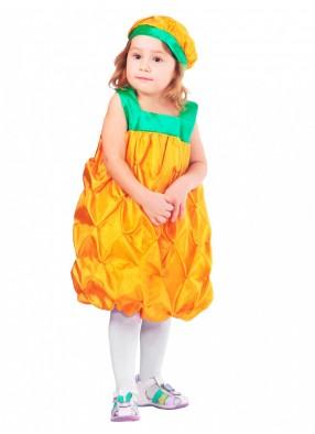 Костюм веселого ананаса для девочки