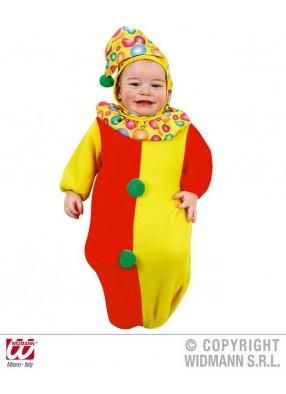 Костюм веселого клоуна для малыша