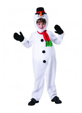 Костюм веселого снеговика Олафа