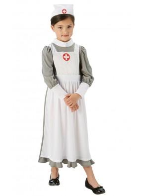 Костюм военной медсестры для детей фото