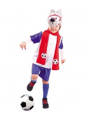 Костюм волченка футболиста