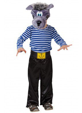 Костюм волка-моряка для мальчика