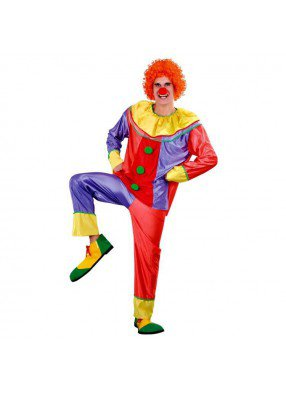 Костюм забавного клоуна