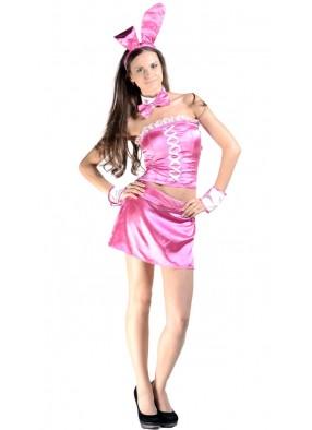 Костюм Зайки в розовом фото