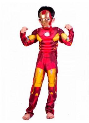 Костюм Железного человека для мальчика с мускулатурой