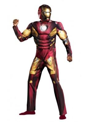 Костюм Железного человека с рельефом фото