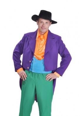 Костюм злодея в фиолетовом пиджаке-5 фото