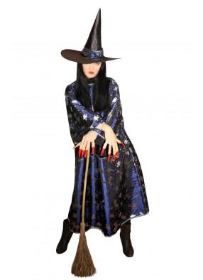 Костюм злой ведьмы с метлой