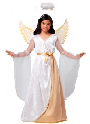 Костюм золотистого Ангела для девочки