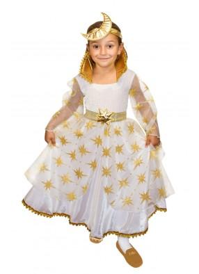 Костюм золотой феи ночи для девочки