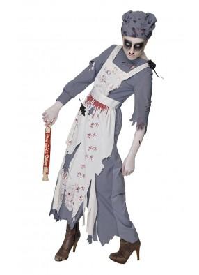 Костюм зомби-горничной фото