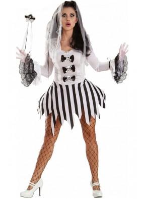 Костюм Зомби Невесты на Хэллоуин 1 фото
