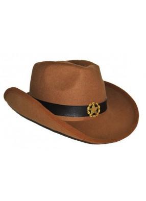 Ковбойская шляпа со звездой