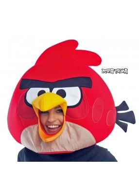 Красная маска ANGRY BIRDS