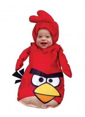 Красный костюм Angry Birds для малышей