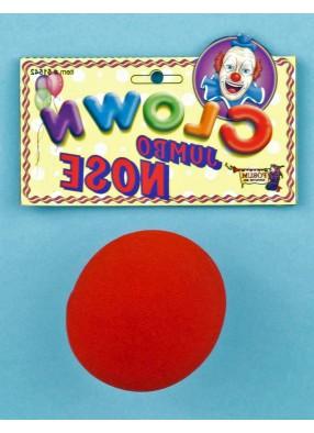 Красный нос клоуна