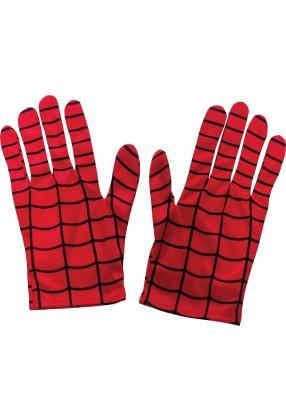 Красные перчатки Человека паука