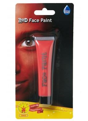 Красный грим для лица фото