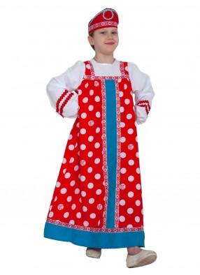 Красный костюм Алёнушки