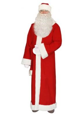 Красный костюм Деда Мороза на Новый Год