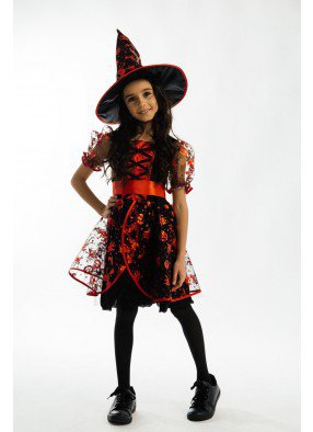 Красный костюм ведьмы