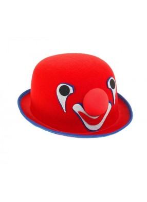 Красный котелок клоуна