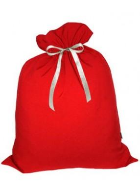 Красный маленький мешочек для подарков