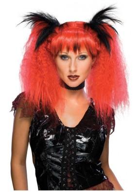 Красный парик летучей мыши