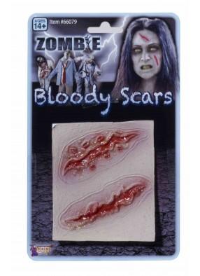 Кровавые шрамы зомби