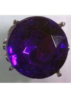 Круглое фиолетовое кольцо