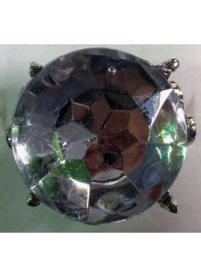 Круглое хрустальное кольцо