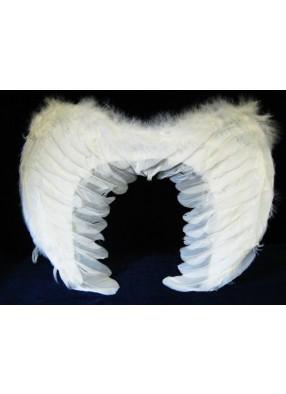 Крылья перьевые белые 44-32см