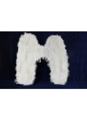 Крылья перьевые белые 50х50